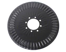 Fluted Coulter Disc